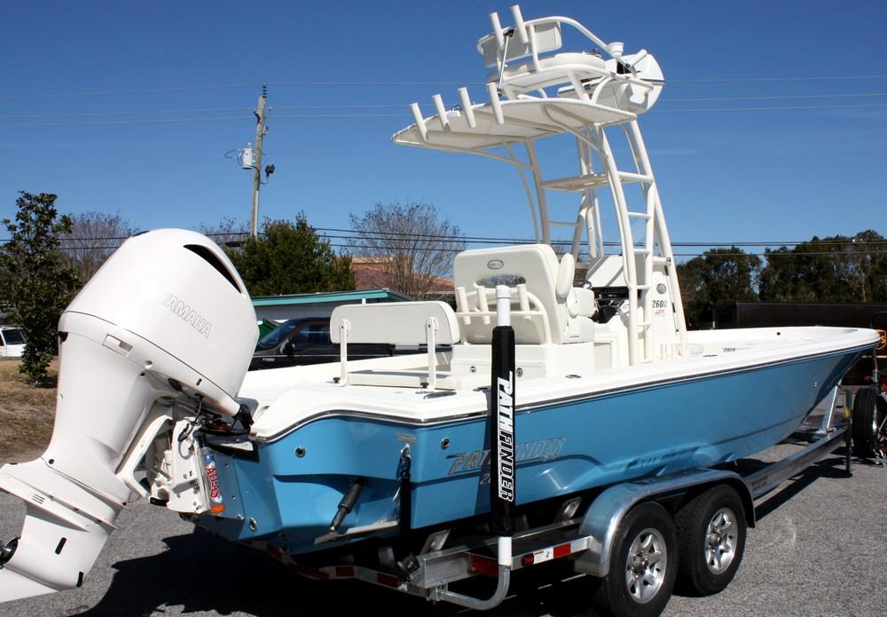 2018 Pathfinder 2600 HPS (Bahama Blue)