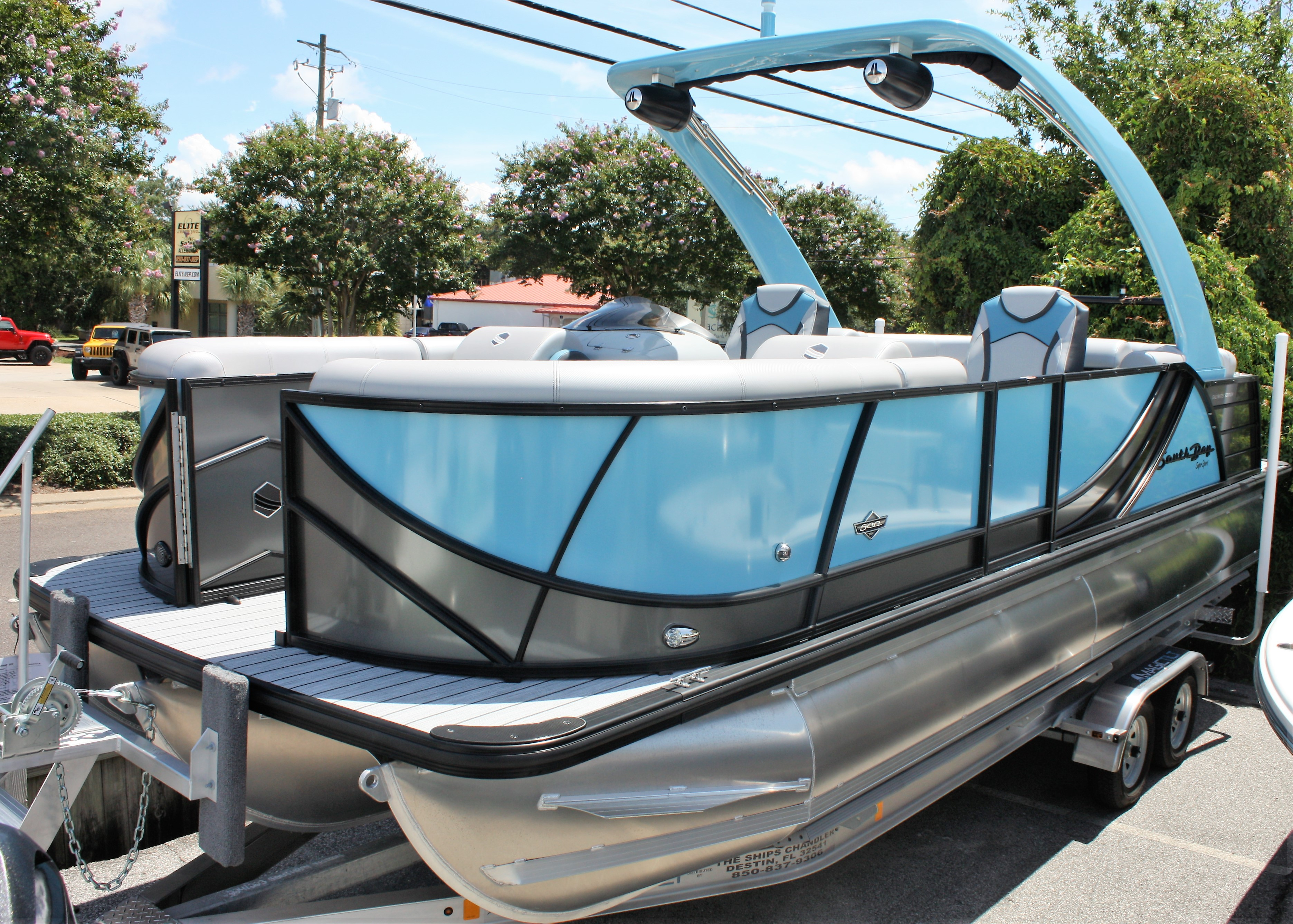 2019 SOUTH BAY 523 RS ARCH 3.0+ Tritoon
