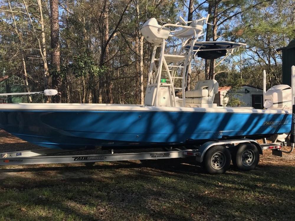 2016 Pathfinder 2600 HPS (Marlin Blue)