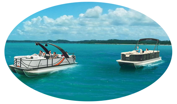 VIEW NEW PONTOON BOATS at The Ships Chandler Marine Destin